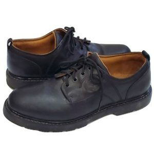 Timberland Black Leather Oxfords